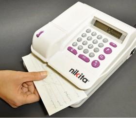پر فراژ چک الکترونیکی نیکیتا CW 1405